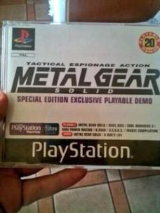 Special Edition Exclusive Metal Gear Solid Playstation 1 Demo Disc thanks to @RETR0JOE for the picture